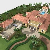 Custom spanish residence