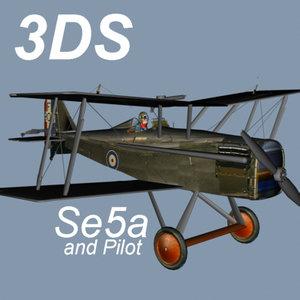 world war se5a 3d 3ds