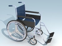 3d model wheelchair manual