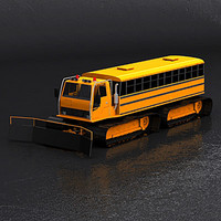 3d model passenger snowcat snow