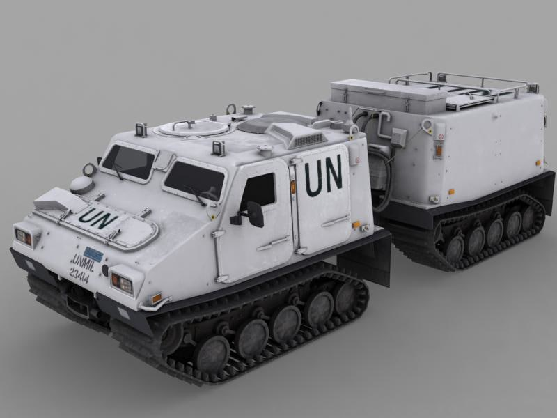3d bv 309 tracked vehicle