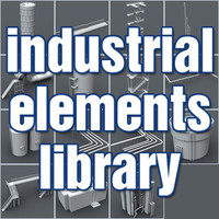 Industrial Elements Library