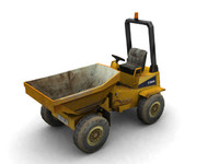 maya vehicles dumper truck