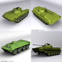 3d model bmp-2 bmd-3