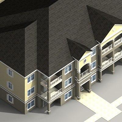 maya apartments building