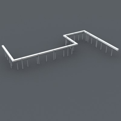 3ds max industrial element