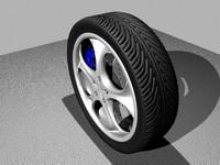 3dsmax wheel brake disc
