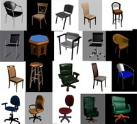 3ds max chairs