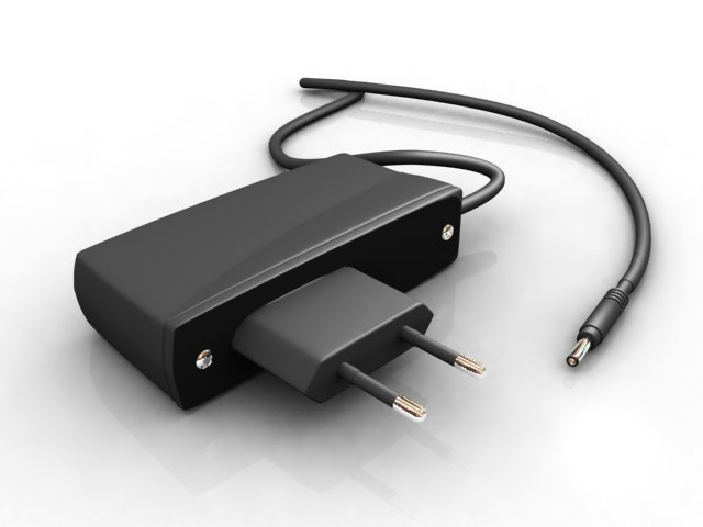 3d nokia mobile charger model