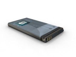 nokia mobile battery 3d model