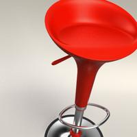 3d max bombo stool