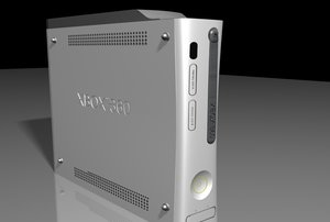 3d model xbox 360