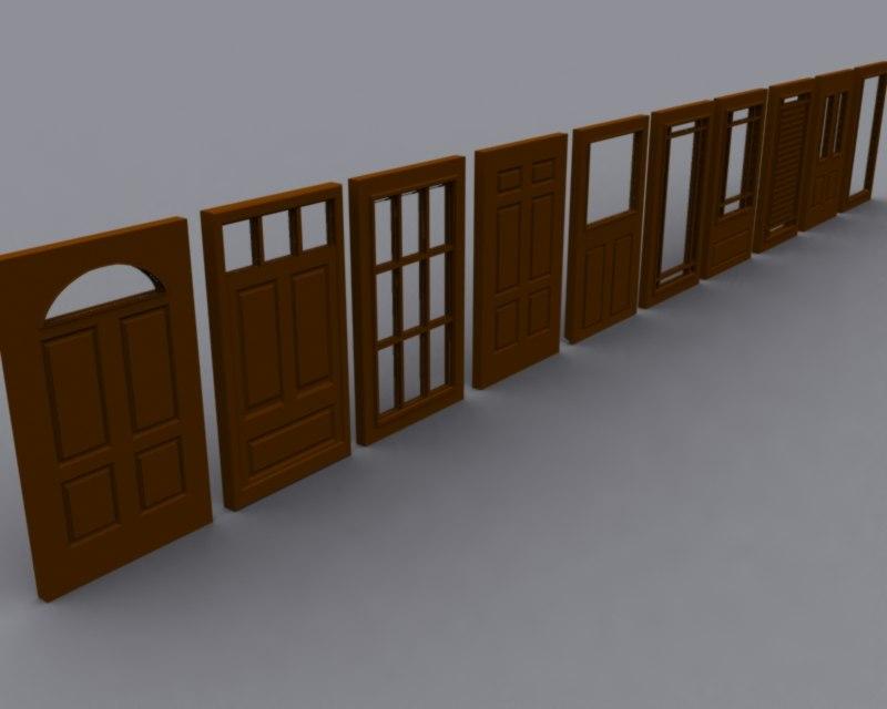 free x model door set