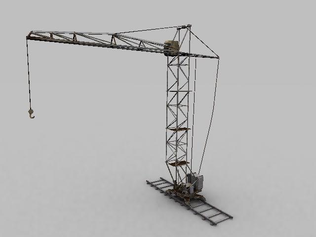 3d max crane
