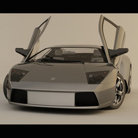 lamborghini murcielago car 3d model
