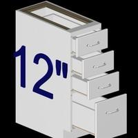 max 12 inch kitchen base
