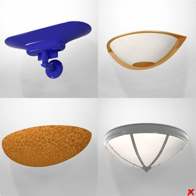 3ds max wall lamp