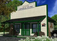 store towns country 3d max
