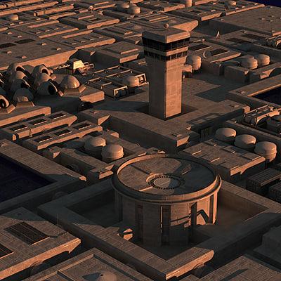 maya science fiction construction kit