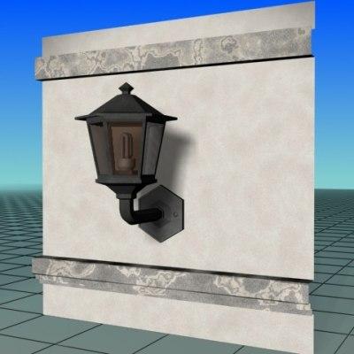 free max model lighting lantern lamp