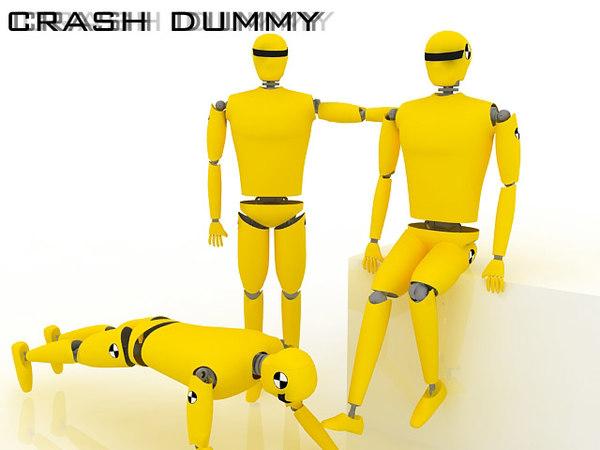 crash dummy max