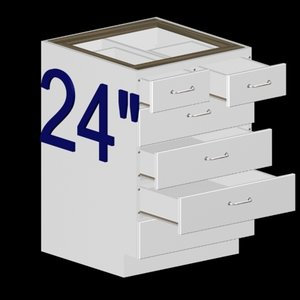 3dsmax kitchen base cabinet 24
