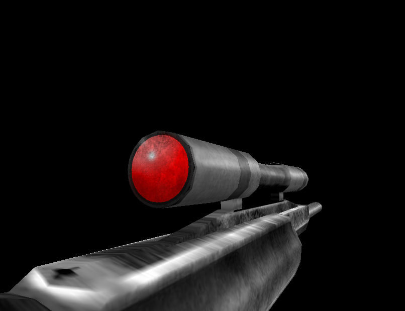 3d model of capricon sniper