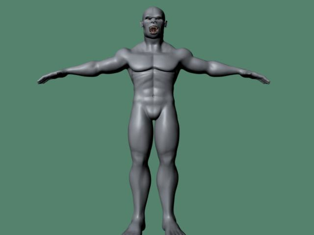 polygonal male character ma