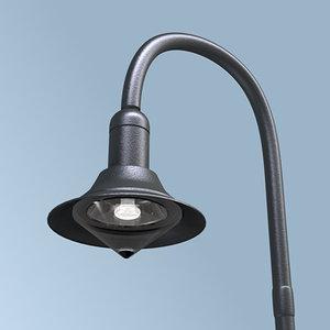 3d model streetlamp street lamp