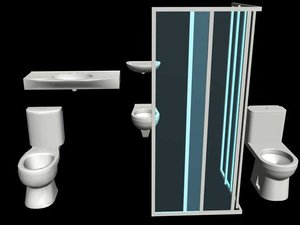 3d bidet lavatory shower