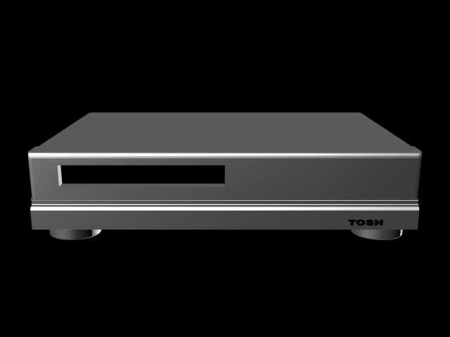 3d dvd player model