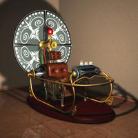 3d model timemachine time machine