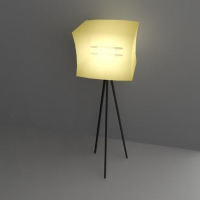 bar lamp 3ds