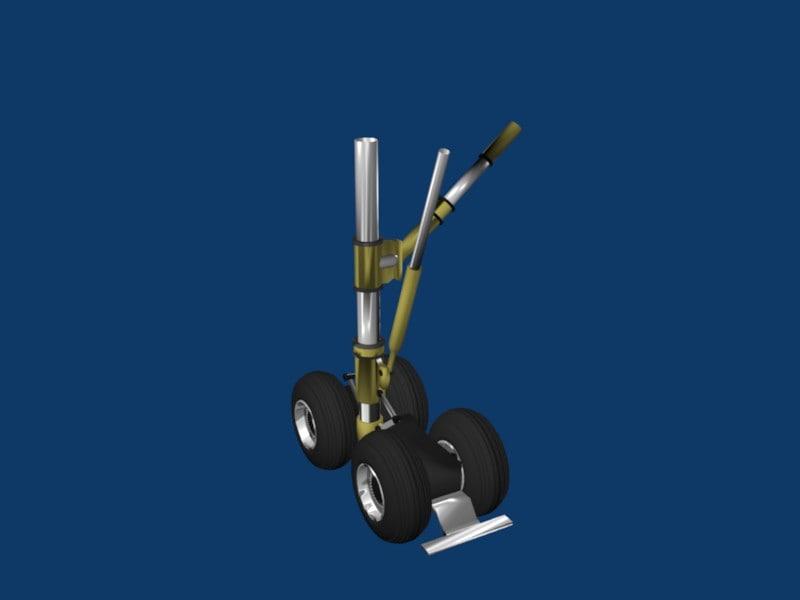 3d model landing gear