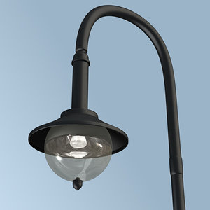 streetlamp street lamp c4d