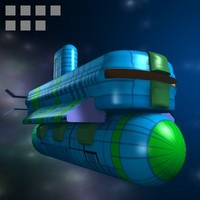 space ship c4d free
