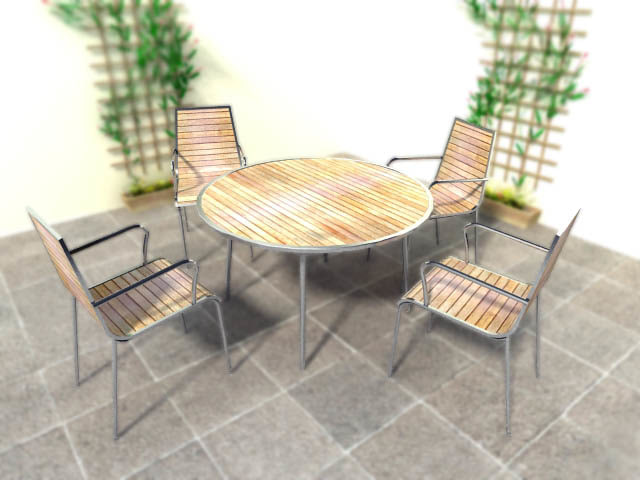 steel patio set table chairs max