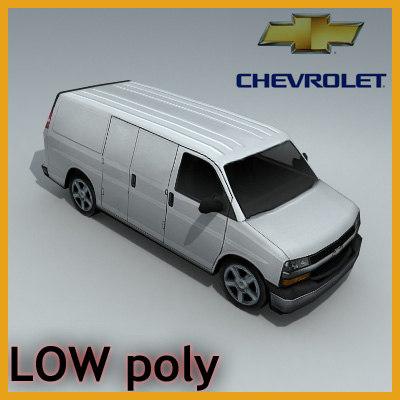 3d chevrolet express
