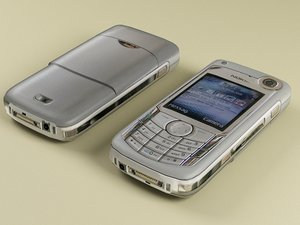 3ds max nokia 6680 modelled