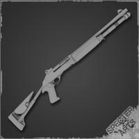 m1014 combat shotgun obj