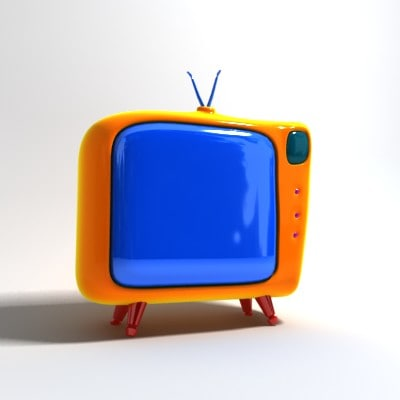 3ds max tv cartoon