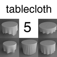 3ds table cloth tablecloth