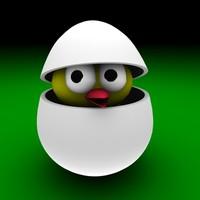 egg easter bird 3ds