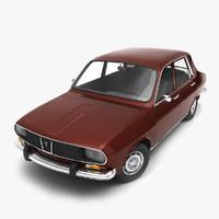 1969 dacia 3d model