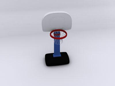 3ds max little basketball
