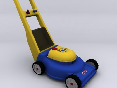 lawnmower toy 3ds