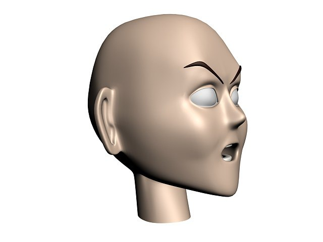 boy head 3d max