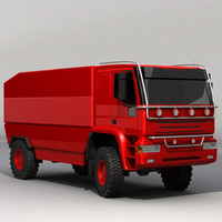 truck dakar 3d model