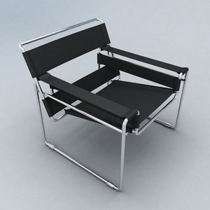 obj wassily chair