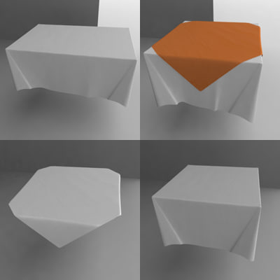 square table cloth dxf